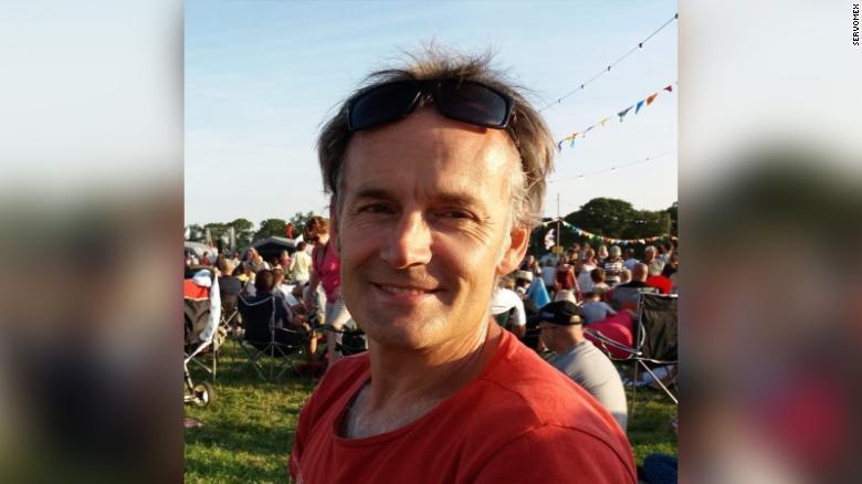 UK patient Steve Walsh
