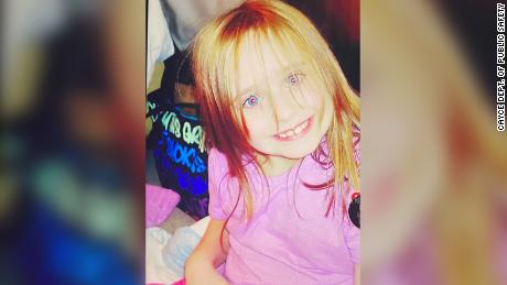 Faye has strawberry blonde hair and blue eyes. Police ask that anybody with information call the dedicated hotline.