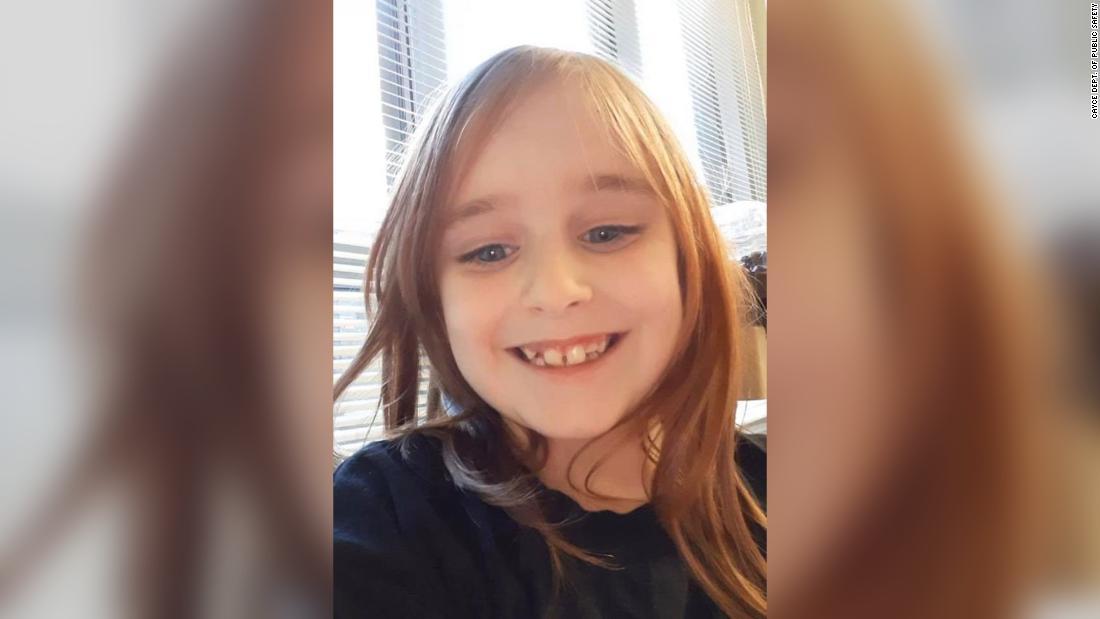 6-year-old girl menghilang dari halaman depan rumahnya