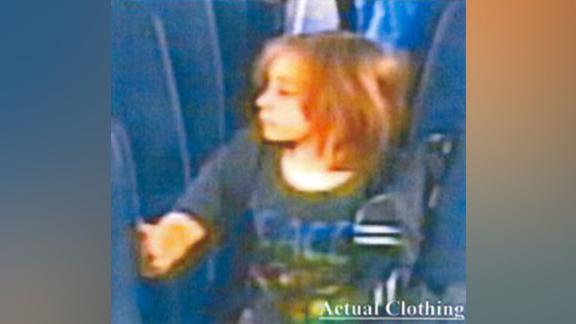 Faye was last seen wearing a black T-shirt with neon colors.