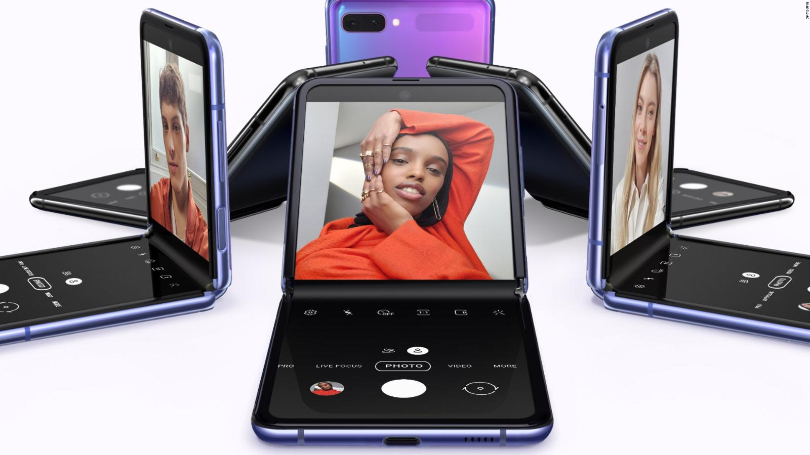 See Samsung S Foldable Galaxy Z Flip Smartphone Cnn Video