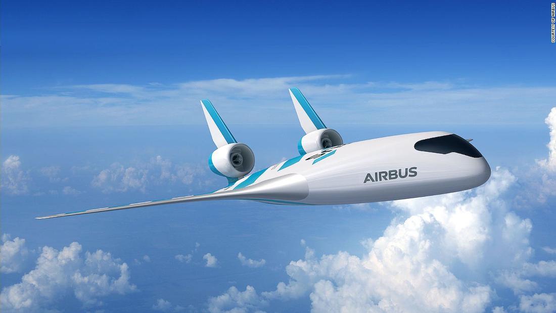 Airbus αποκαλύπτει φουτουριστικό blended wing αεροπλάνο