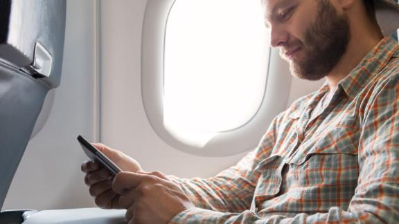 The Southwest Priority credit card offers 20% back on your inflight purchases, including Wi-Fi.