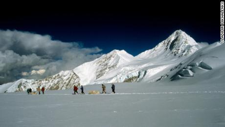 The Himalayan mountain where the ice sample was obtained is the 14th tallest mountain in the world.