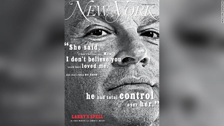 This New York magazine cover story sparked an investigation into Lawrence Ray, prosecutors said.