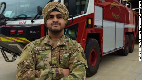 Air Force updates its dress code policy to include turbans