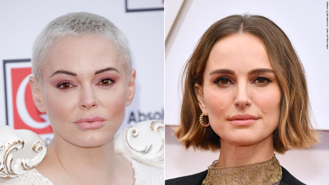 Natalie Portman reagiert, nachdem Rose McGowan nennt Sie Oscar kräftig zu weiblich directors 'offensive'