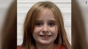 Faye Swetlik, 6, went missing Monday.