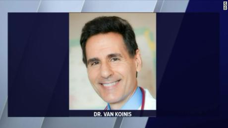 "Dr. Van Koinis left behind a suicide note that ""raised questions"" about vaccination record keeping at his pediatric practice, the sheriff's office said."