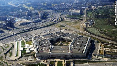 This picture taken 26 December 2011 shows the Pentagon building in Washington, DC.  The Pentagon, which is the headquarters of the United States Department of Defense (DOD), is the world's largest office building by floor area, with about 6,500,000 sq ft (600,000 m2), of which 3,700,000 sq ft (340,000 m2) are used as offices.  Approximately 23,000 military and civilian employees and about 3,000 non-defense support personnel work in the Pentagon. (Photo credit should read STAFF/AFP via Getty Images)