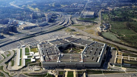 This picture taken 26 December 2011 shows the Pentagon building in Washington, DC.  The Pentagon, which is the headquarters of the United States Department of Defense (DOD), is the world