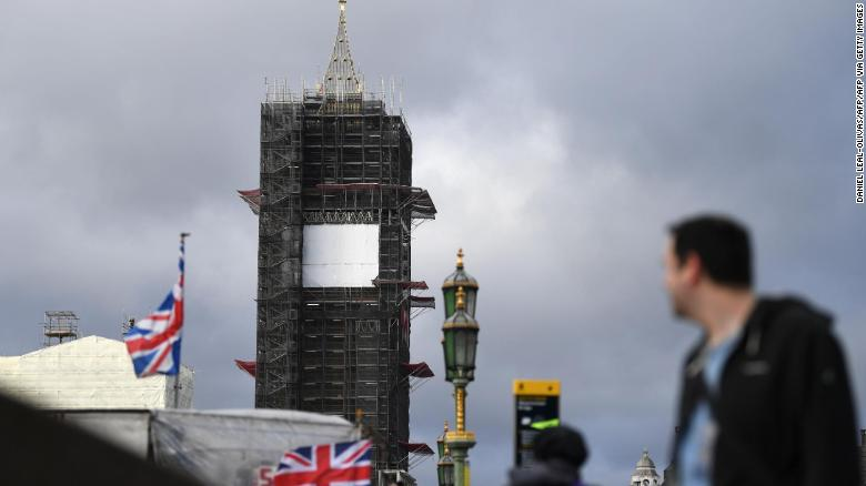 Big Ben has been wrapped in scaffolding since 2017.