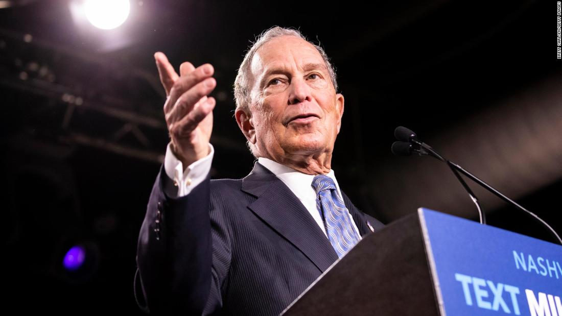 Michael Bloomberg qualifies for his first Democratic debate