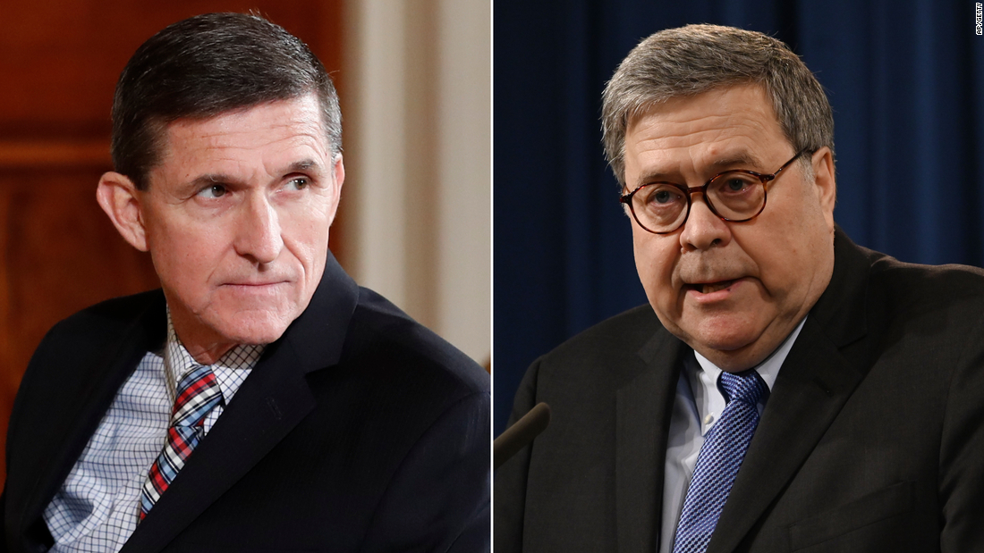 Barr privately ordered re-examination of Michael Flynn's case, US officials say