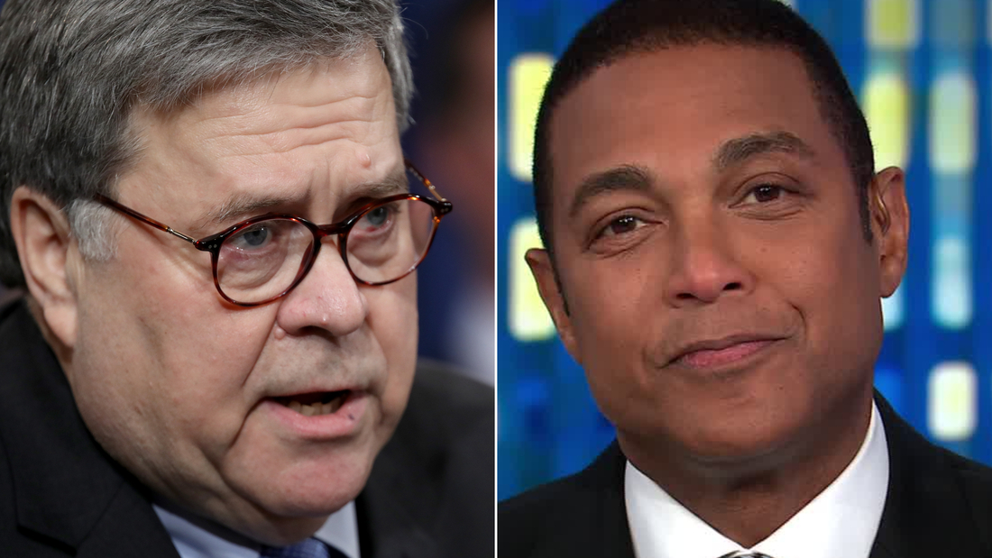 Don Lemon isn't buying Bill Barr's rebuke of Trump