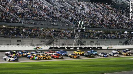 Rules for qualifying for the Daytona 500 include placement of drivers from non-chartered teams