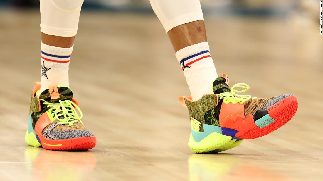 NBA-All-Star-Spiel: Ein Mode-Start-und Landebahn