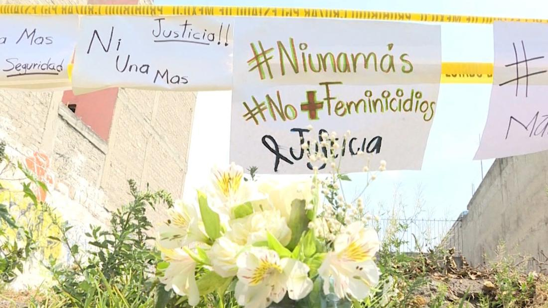 These are the faces representing Ingrid Escamilla, the young woman brutally killed and skinned in Mexico