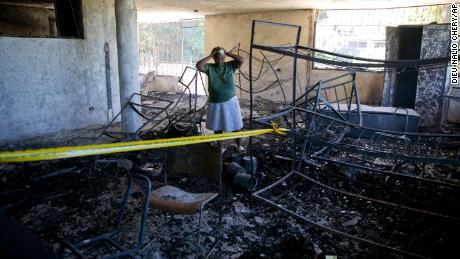 More than a dozen children were killed at the Port Au Prince facility on Friday, police said.