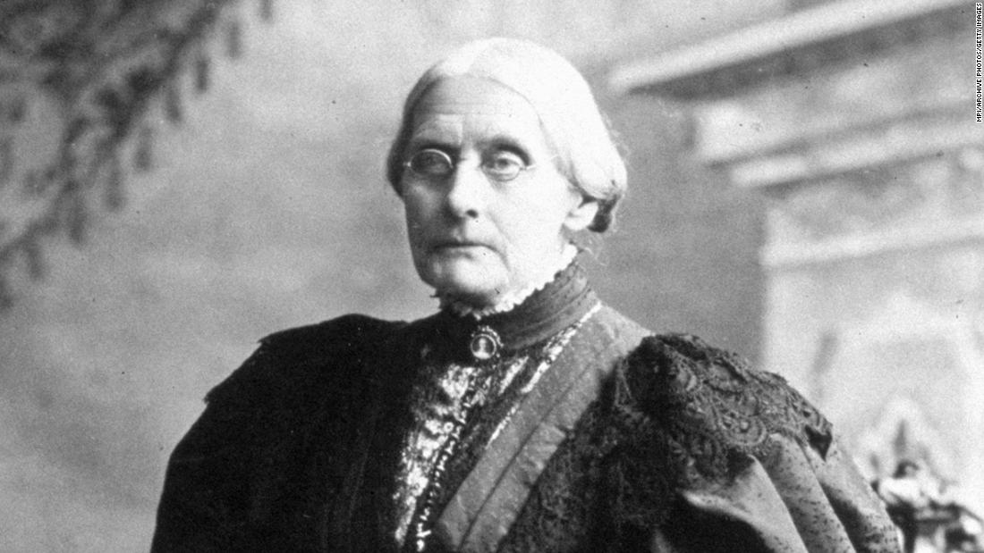 Nearly 150 years ago Susan B. Anthony was arrested for voting when women weren't allowed to. Today she'll get a pardon – CNN
