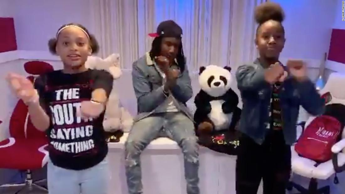 Diese teen erstellt, die virale Renegade Tanz. Dank K-Camp, das Sie endlich bekommen, Kredit