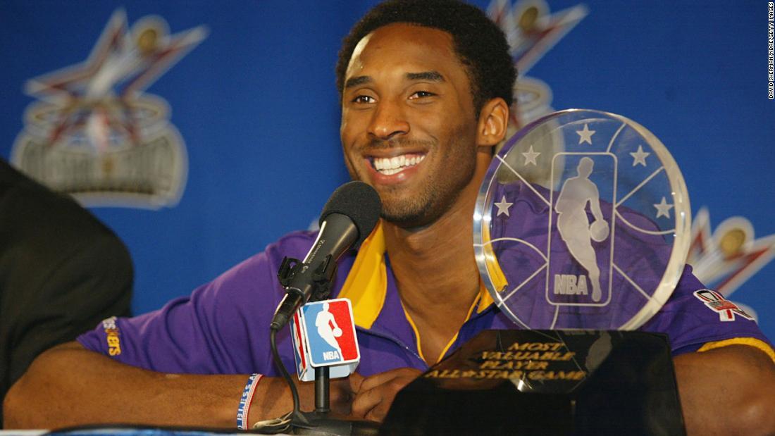 NBA All-Star Game MVP Award ist jetzt die Kobe Bryant MVP-Auszeichnung