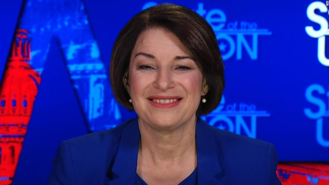 Klobuchar again voices concern about potentially having Sanders at top of Democratic ticket