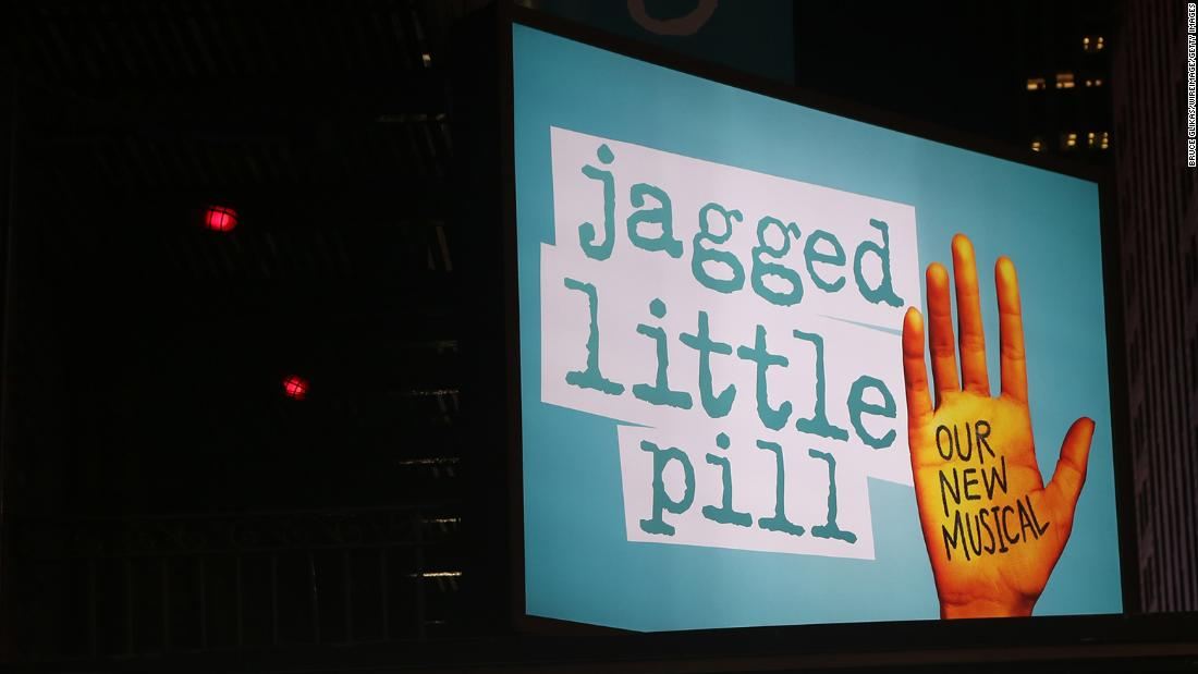Patrons were evacuated from 'Jagged Little Pill' on Broadway after a likely pepper-spray incident, police say thumbnail