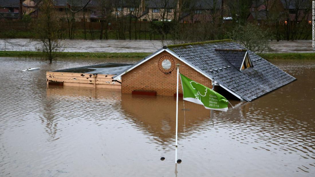 Storm Dennis strikes UK sparking flood warnings and evacuations