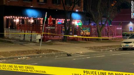 At the Majestic Lounge in Hartford, Connecticut, five people were shot, one fatally, early Sunday morning, according to police.