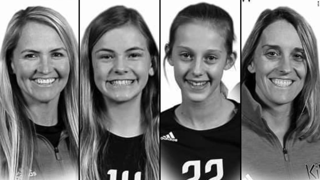 Ehemaliger college-volleyball Sterne und Ihre zwei Töchter getötet in crash