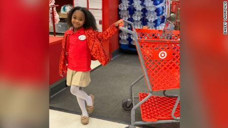 Brayden Lawrence celebrated her 8th birthday with her friends at a Target store in Atlanta.