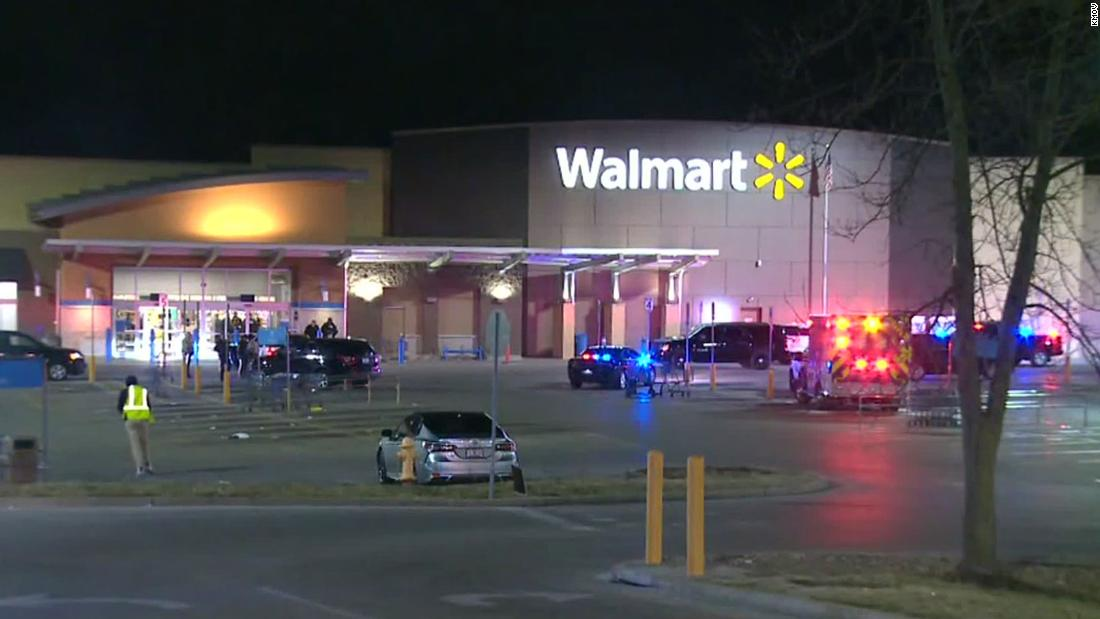 A police officer working security at Walmart tried to stop a shoplifter. He was shot multiple times