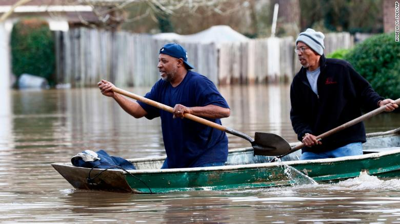Pearl River's third highest crest on record causes flooding