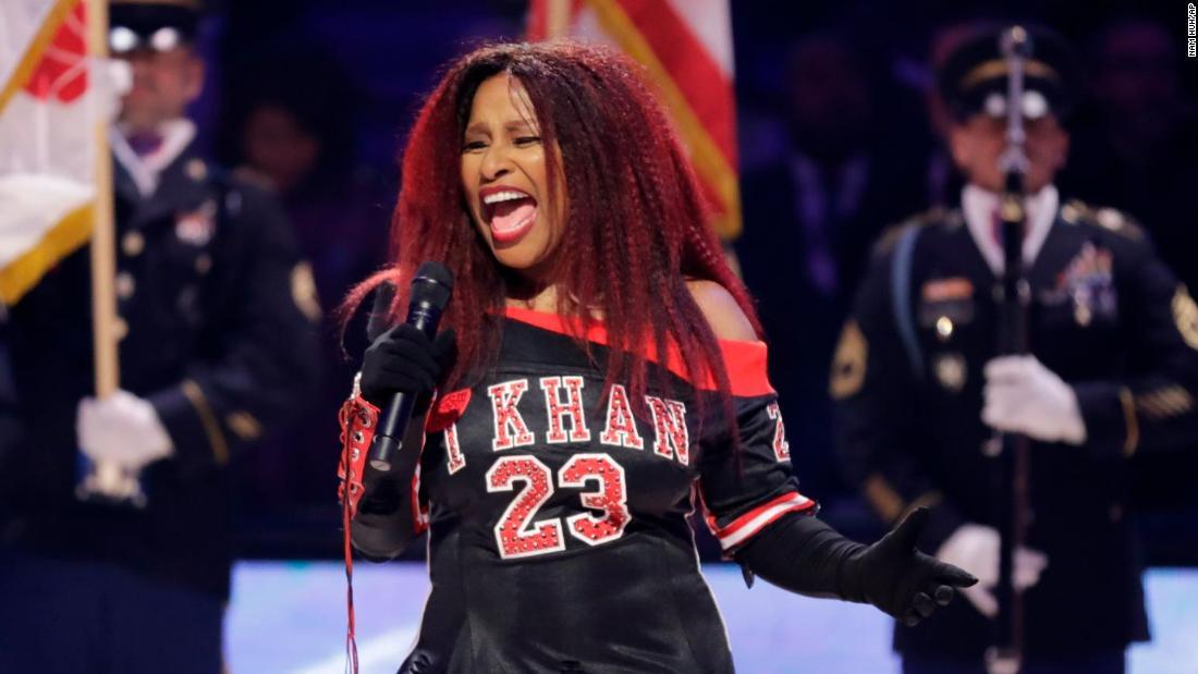 Chaka Khan-All-Star-performance geröstet