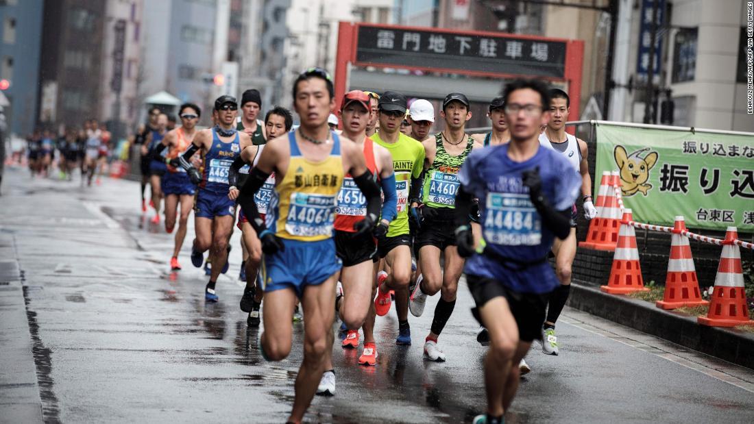 Marathon eingeschränkt zu elite-Athleten über coronavirus ängste