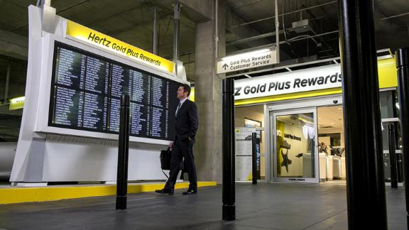 Hertz Gold Plus Rewards privileges with the Amex Platinum card include discounts and upgrades.