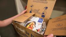 Blue Apron is a meal kit delivery service