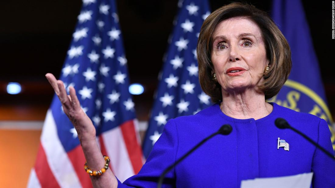 Pelosi promises 'strong bipartisan vote' for $2 trillion stimulus in the House