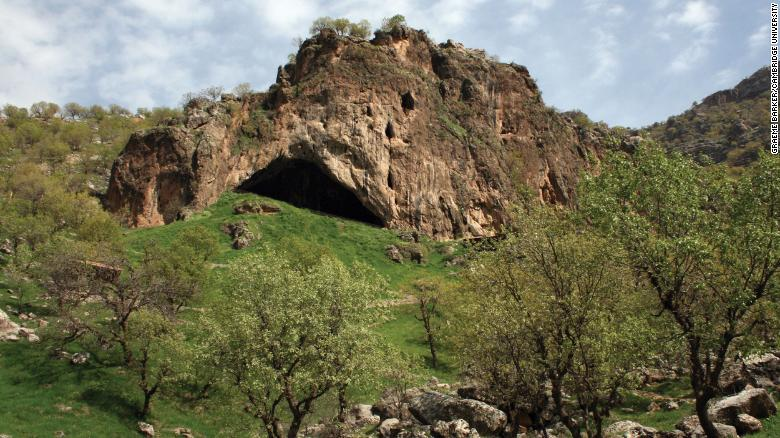 Shanidar cave.