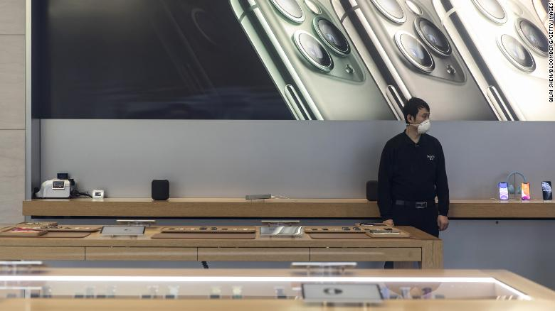 Apple revenue will be hit as coronavirus creates iPhone supply shortages, company warns