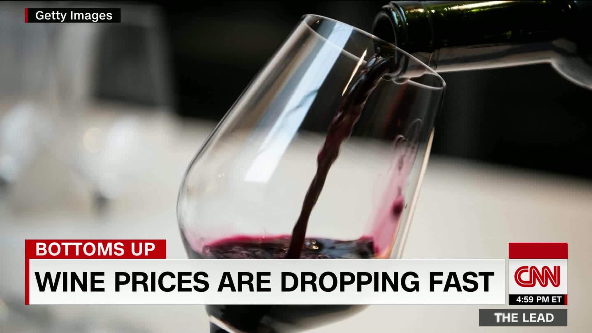 Drink Up Wine Prices Expected To Drop Cnn Video
