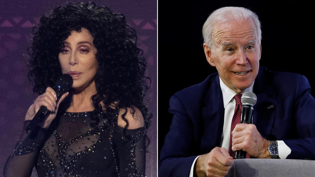 Cher sagt, Sie glaubt immer noch, dass Joe Biden in