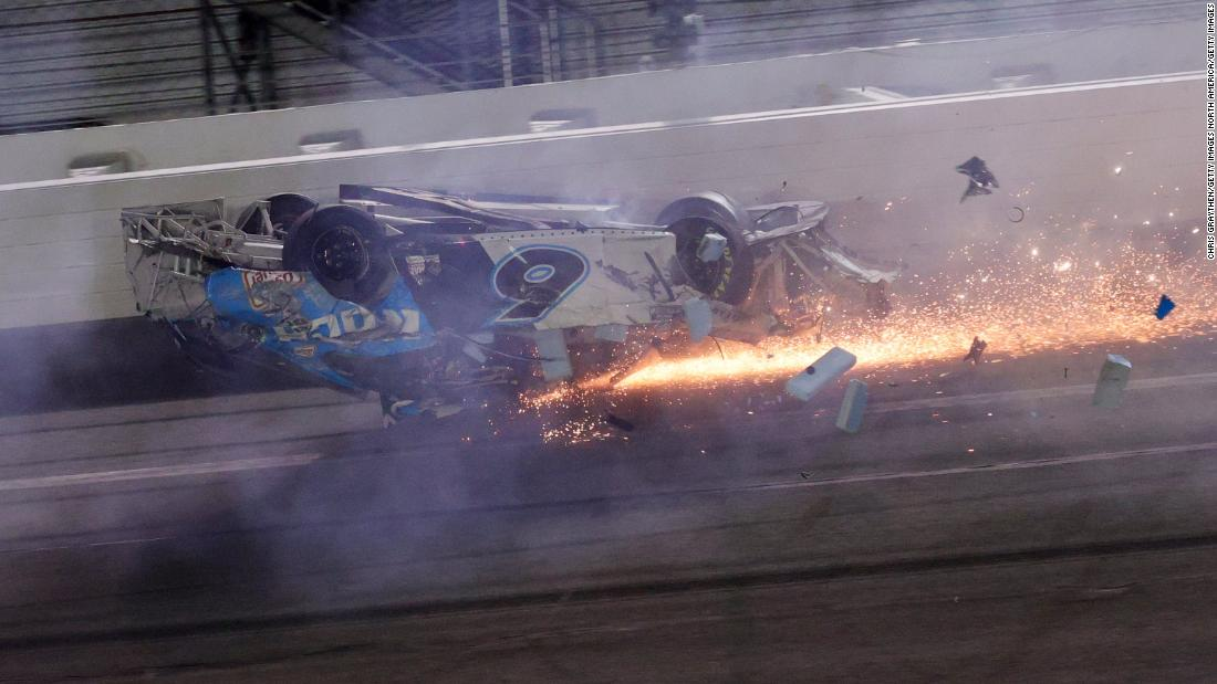 Denny Hamlin and Joe Gibbs apologize for celebrating Daytona 500 win in wake of Ryan Newman crash