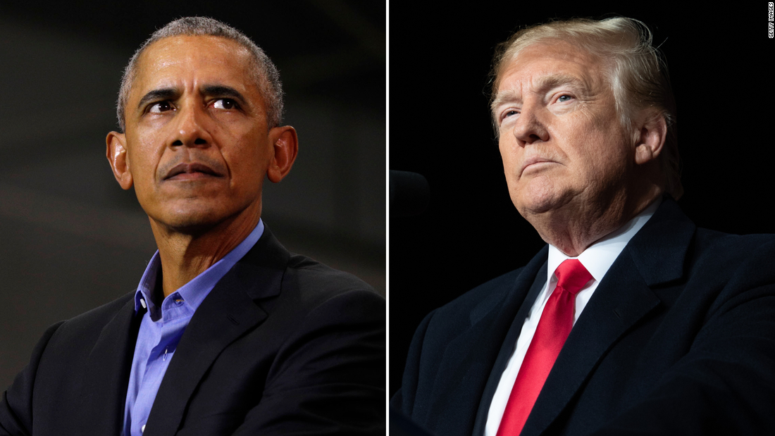 Analysis: Obama and Trump intensify their battle over democracy