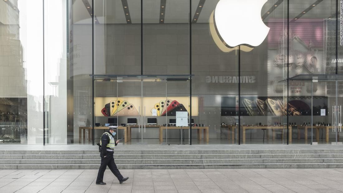 Apple coronavirus προειδοποίηση μόλις ξυρισμένο $34 δισ. ευρώ από τη χρηματιστηριακή αξία