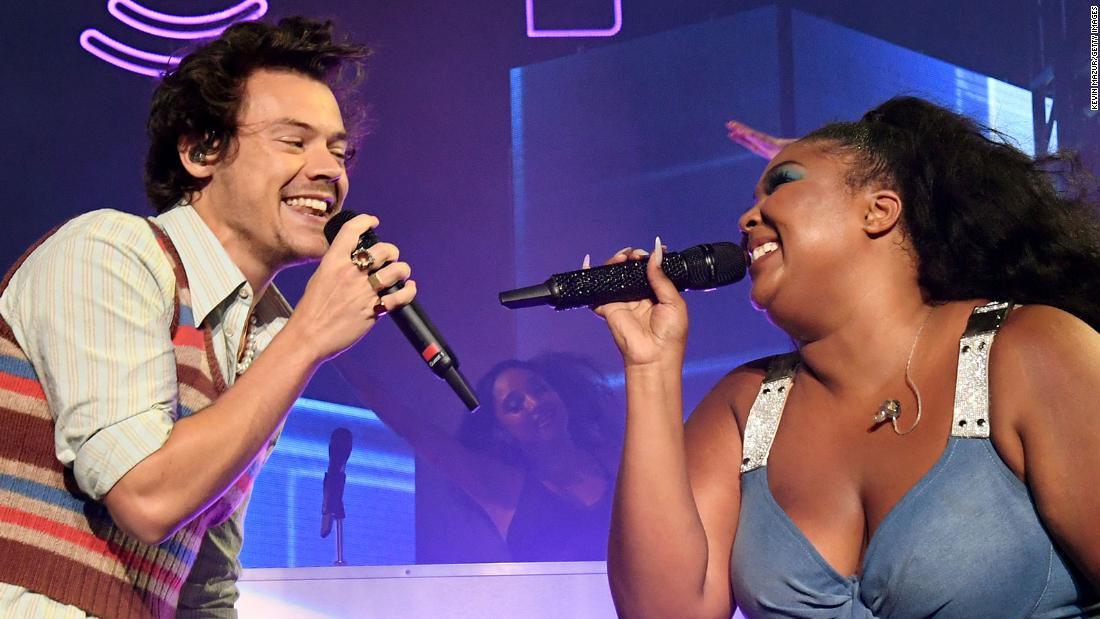Lizzo und Harry Styles weiterhin Ihre schöne musikalische Affäre