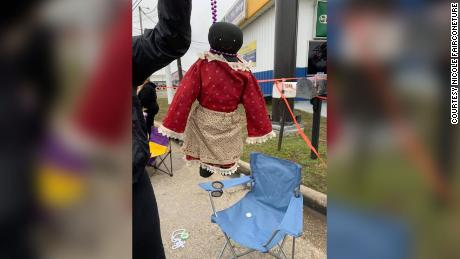 Nicole Fairconeture said that her 12-year-old daughter was given a black doll with beads forming a noose around its neck at a Mardi Gras parade in Mississippi.