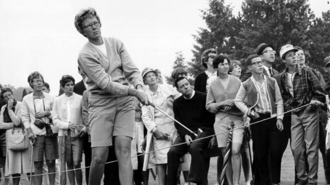 Women's golf legend Mickey Wright dies aged 85