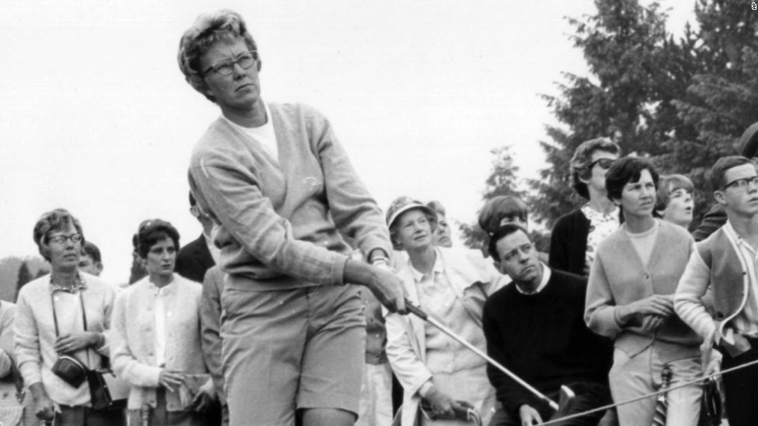 Γκολφ γυναικών θρύλο, πεθαίνει σε 85